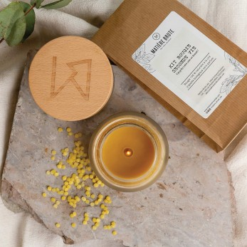 Kit bougie seconde vie (Soin Exfoliant Hiver + le kit upcycling)