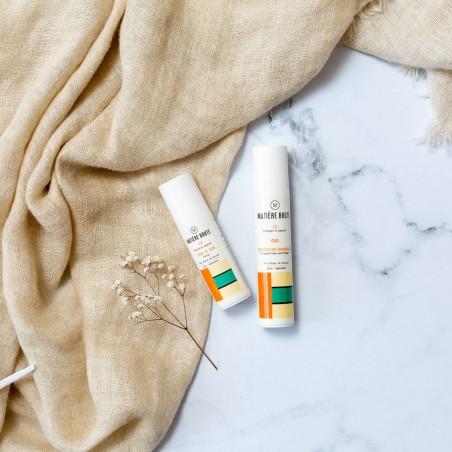 Coffret Soins Visage antipollution : démaquillant nettoyant et crème visage